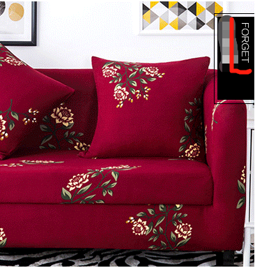 Pattern sofa cover