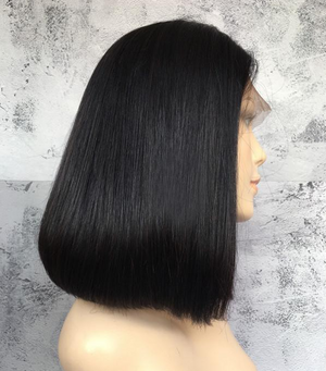 Lace Wig Bob Cut Straight Hair