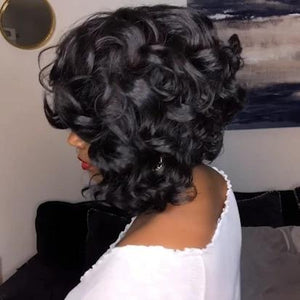 NEW ARRIVAL-SUMMER NATURAL BEAUTY TEXTURE CURLY BOB