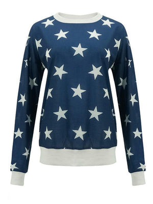 Digital printing round collar Sweatshirts