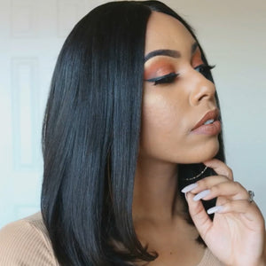 JANUARY 2019 HOT SALE—FRONT LACE BOB STRAIGHT WIG
