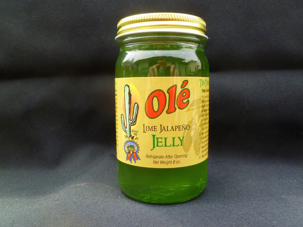 Ole' Lime Jalapeno Jelly