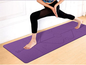 Dry-Grip Yoga Mat - Polonium Co.