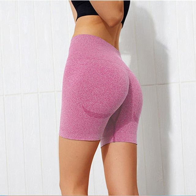 Seamless Push Up Shorts - Polonium Co.