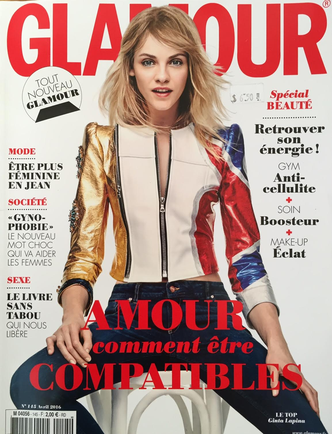 Lauren Featured in French Glamour