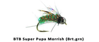 Super Pupa BTB Morrish Green #16 - Flytackle NZ