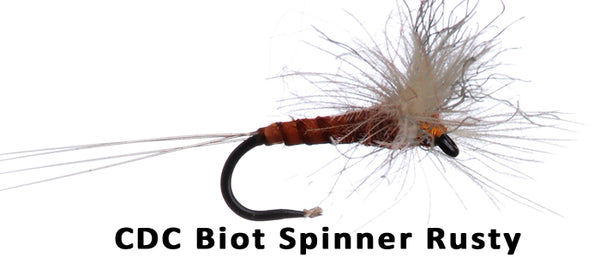 CDC Biot Spinner Rusty - Flytackle NZ