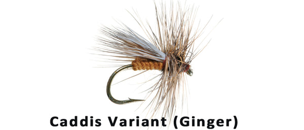 Caddis Variant (ginger) - Flytackle NZ