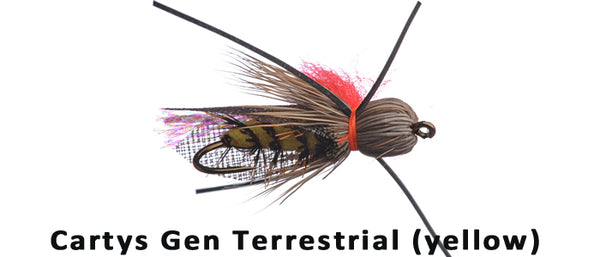 Carty's Terrestrial (yellow) #10 - Flytackle NZ
