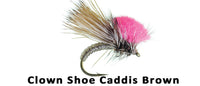 Clown Shoe Caddis (brown) #16 - Flytackle NZ