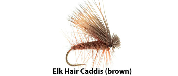Elk Hair Caddis (brown) - Flytackle NZ