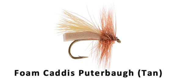 Foam Caddis (tan) - Flytackle NZ
