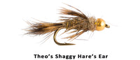 GB Theos Hares Ear (Shaggy) - Flytackle NZ