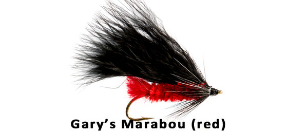 Gary's Marabou (Red) #6 - Flytackle NZ