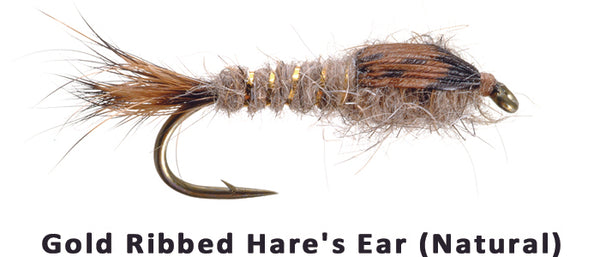 Gold Ribbed Hare's Ear - Flytackle NZ