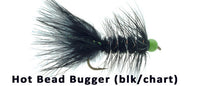 Hot Bead Bugger (blk/chart) - Flytackle NZ