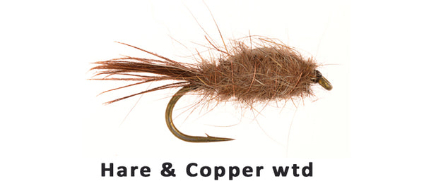 Hare & Copper weighted - Flytackle NZ