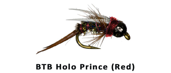 Holo Prince BTB (Red) - Flytackle NZ