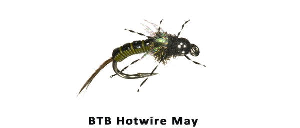 Hotwire May TB Morrish Olive - Flytackle NZ