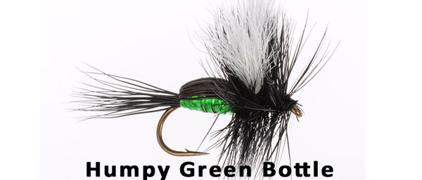 Humpy Green Bottle - Flytackle NZ