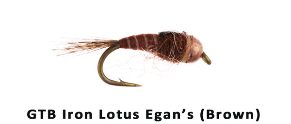 Lance Egans Iron Lotus GTB (Brown) - Flytackle NZ
