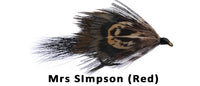 Mrs. Simpson (Red) - Flytackle NZ