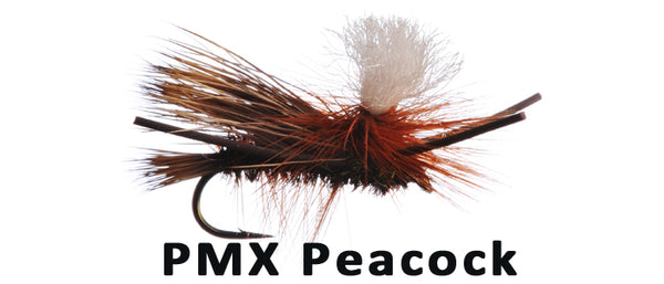 Parachute Madam X (PMX) Peacock - Flytackle NZ