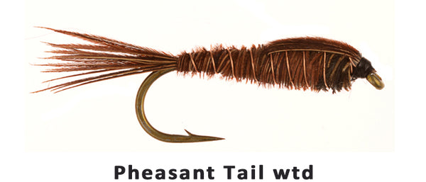 Pheasant Tail Weighted - Flytackle NZ
