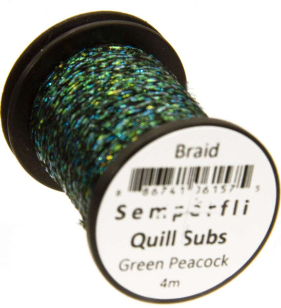 Semperfli Peacock Quill Subs