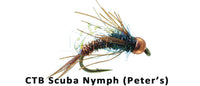 CTB Scuba Nymph (Peter's) #12 - Flytackle NZ