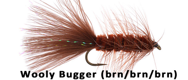 Wooly Bugger (Brown) - Flytackle NZ