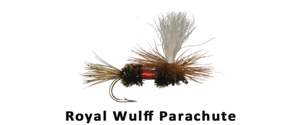 Parachute Royal Wulff - Flytackle NZ