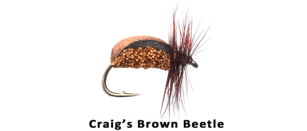 Craig's Brown Beetle #14 - Flytackle NZ