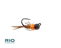 RIO's BTB French Dip Hot Orange Jig Fly