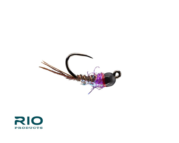 RIO's BTB French Dip Purple Jig Fly