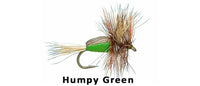 Humpy Green - Flytackle NZ
