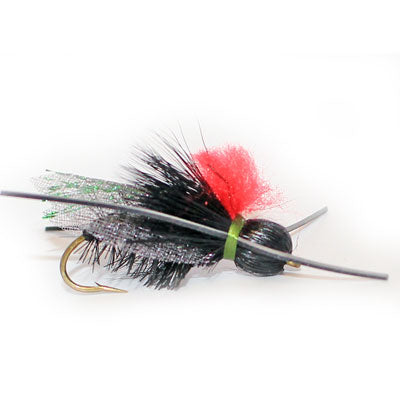 Carty's Terrestrial (black) #10 - Flytackle NZ