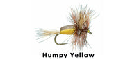 Humpy Yellow - Flytackle NZ