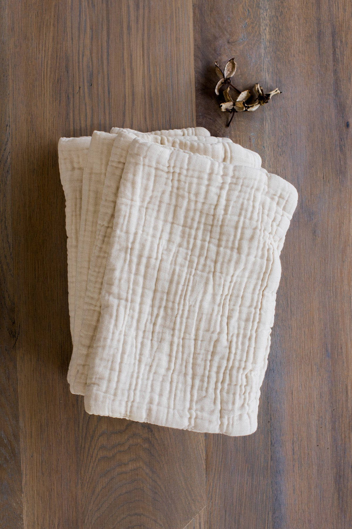 essential burp cloth / 2-pack