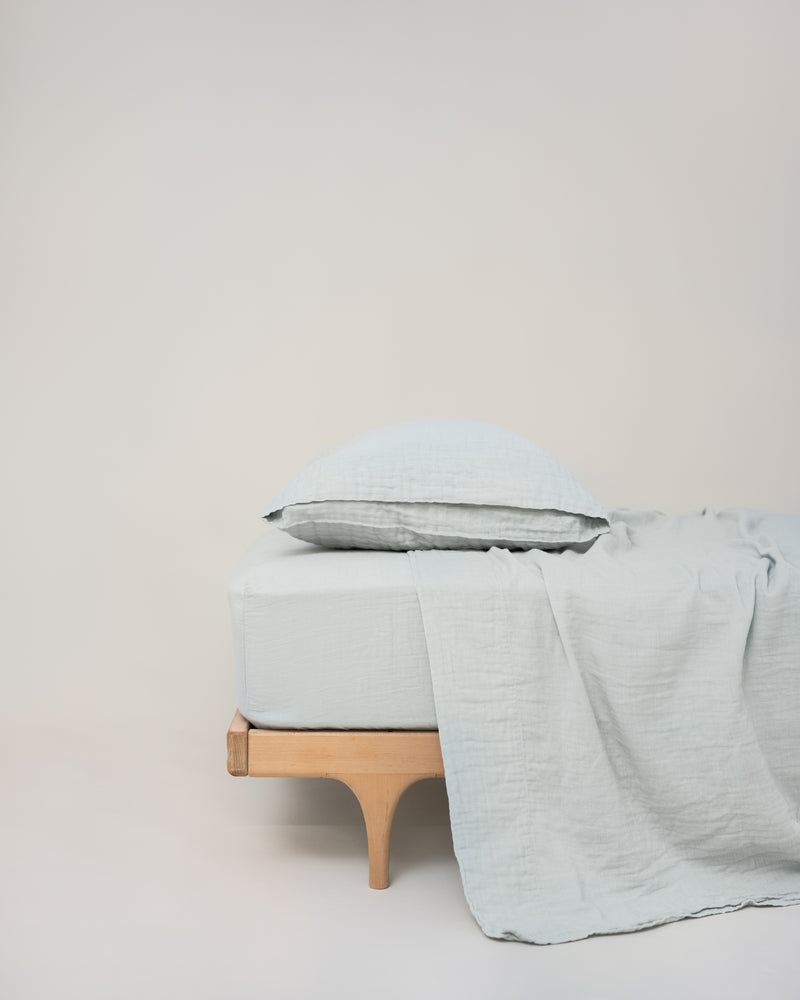 fitted sheet / 2-layer gauze (6 sizes)