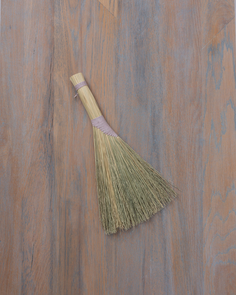 turkey wing hand broom (3 colors)