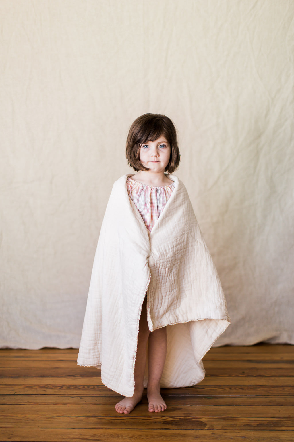 lace heirloom blanket / collection no. 1