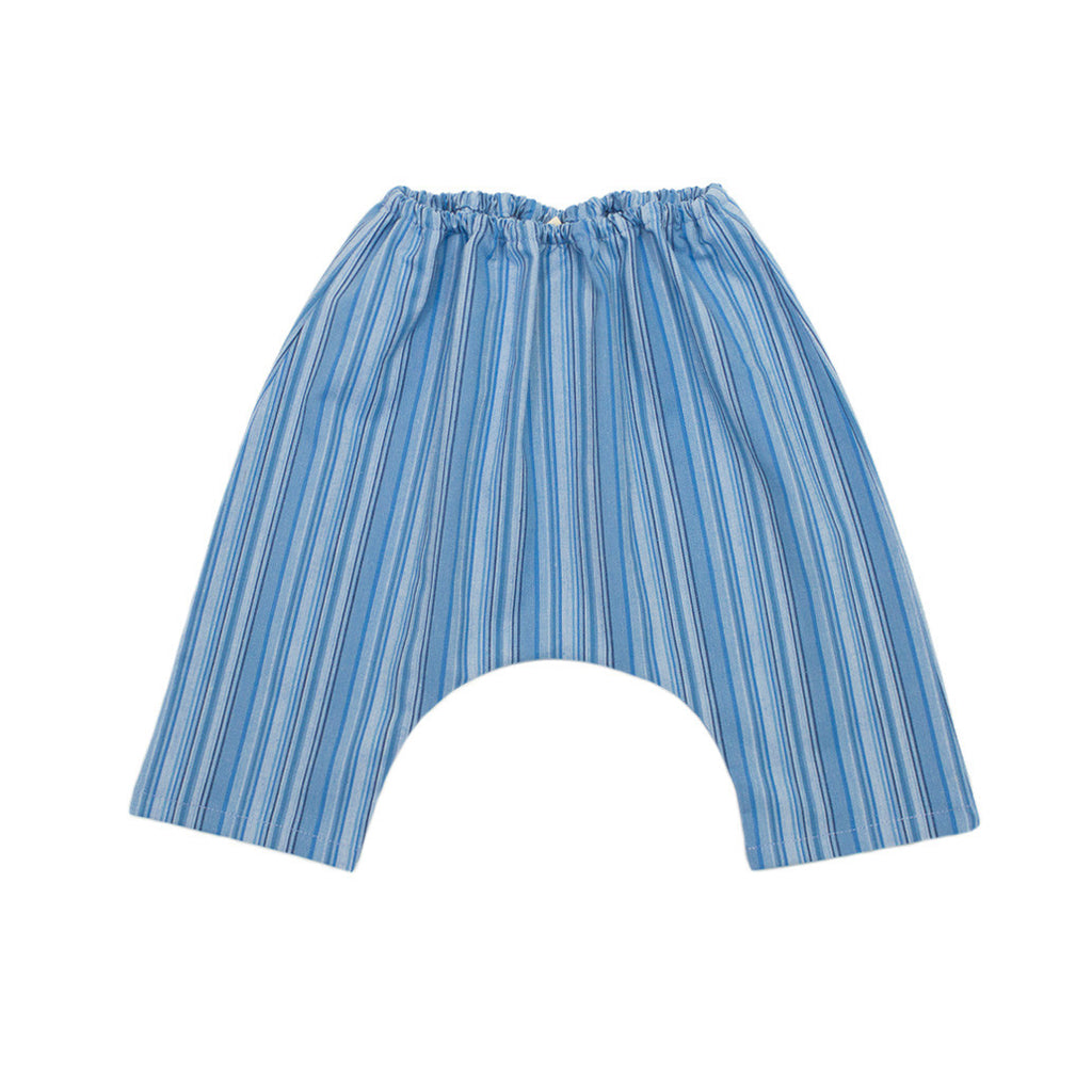 harem pant / blue stripe