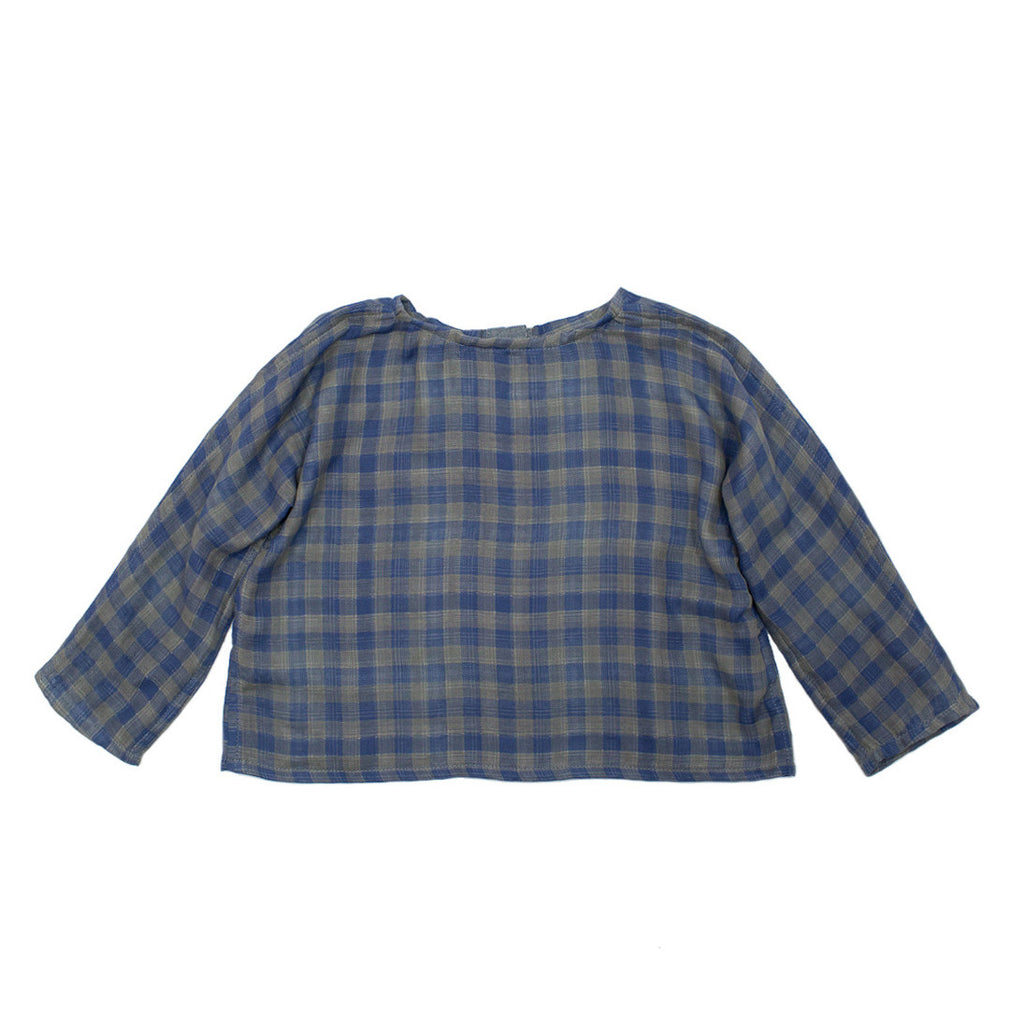 easy dolman / reversible plaid