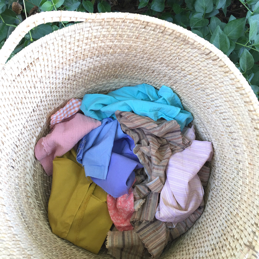 fabric grab bag