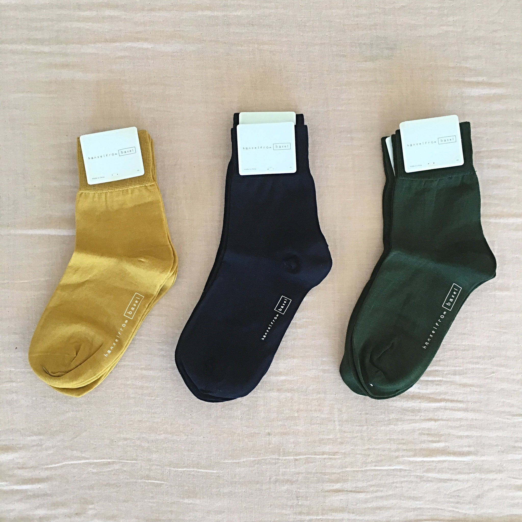 hansel from basel / women's trouser socks - 1