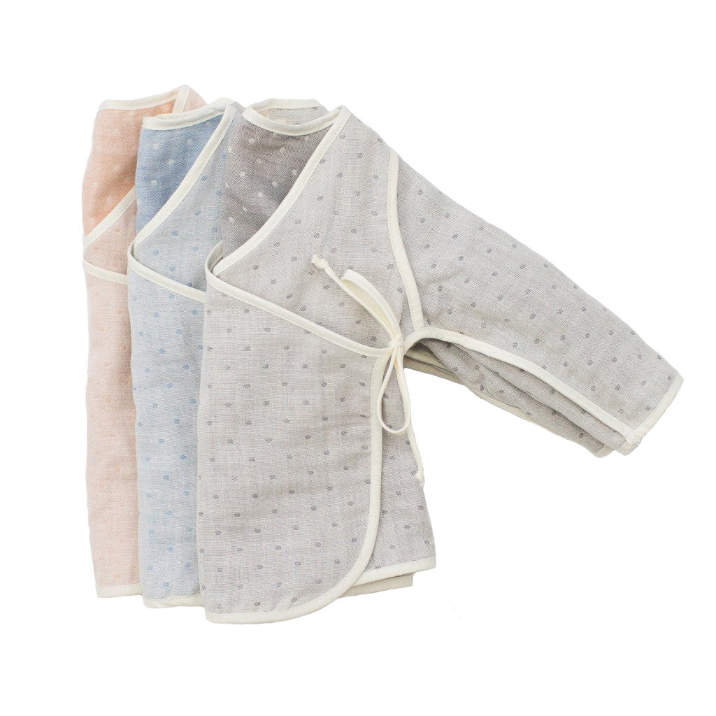 Dotted Kimono Baby Blue Willaby