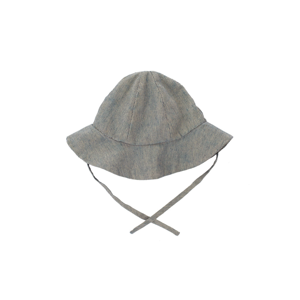 sun hat / railroad stripe
