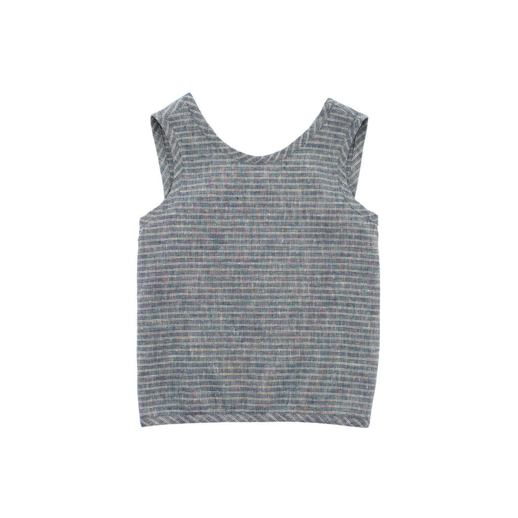 smock tank / ticking stripe