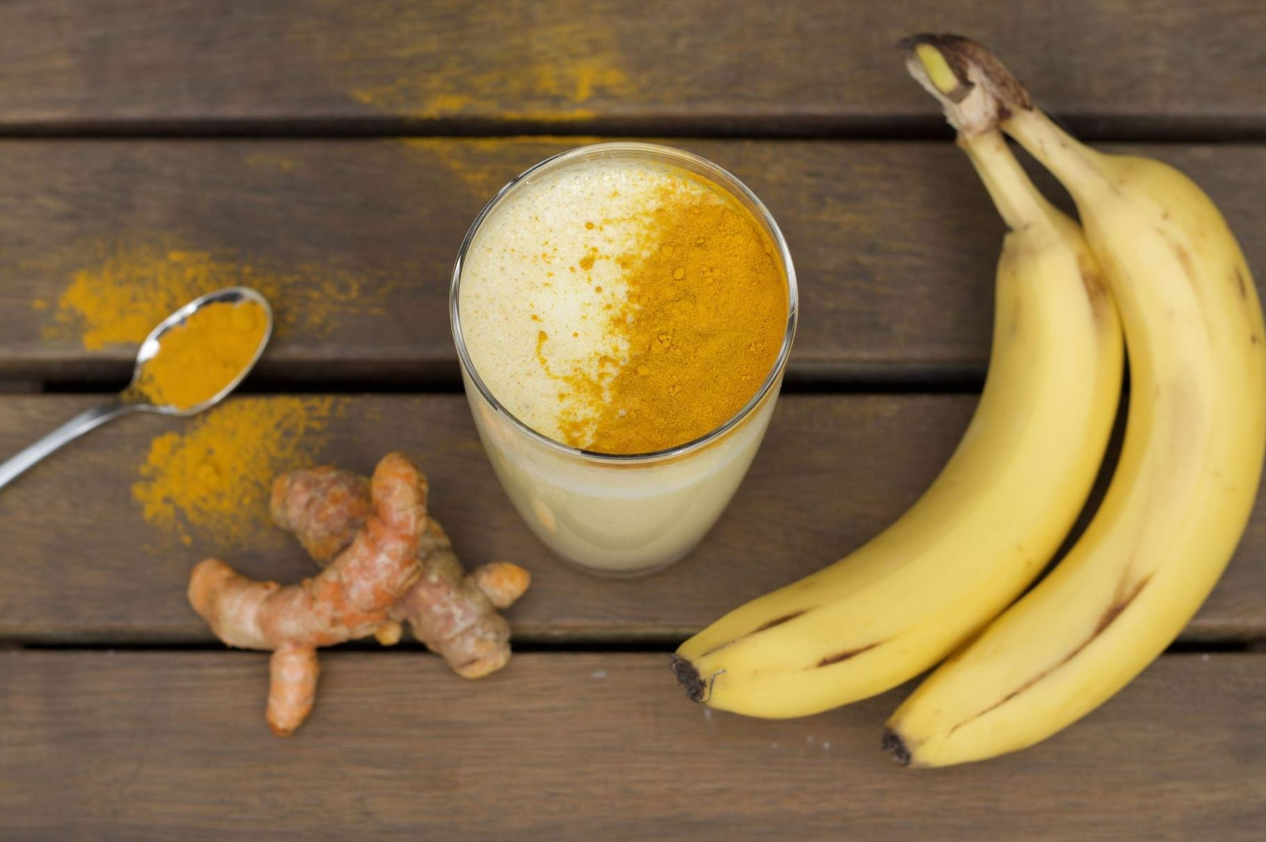 Banana Turmeric Smoothie